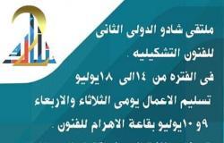 بمشاركة 8 دول..الأهرام تستضيف ملتقى شادو الدولي الثاني للفن التشكيلي