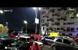 مصر بتشجع٠٠فرحة الشارع المصري بفوز مصر علي الكونغو