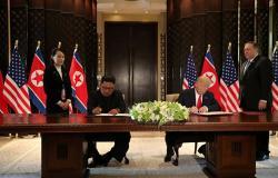 زعيما كوريا الشمالية والولايات المتحدة يتفقان على المضي قدما لنزع السلاح النووي