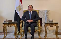 السيسي يبحث مع الرئيس الجزائري التعاون الثنائي والقضايا المشتركة