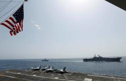 البحرية الأمريكية تبحث عن بحار مفقود في بحر العرب