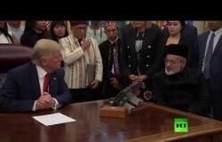 ناج من مجزرة نيوزيلندا يشكر ترامب
