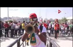 احتفالات جماهير السنغال ما قبل نهائي أمم أفريقيا 2019 أمام الجزائر