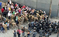 اشتباكات بين العسكريين المتقاعدين وقوات الأمن في لبنان (فيديو وصور)