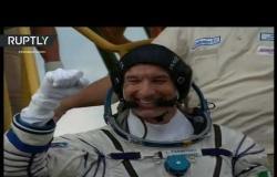"""إطلاق مركبة الفضاء الروسية """"سويوز-إم إس 13"""""""