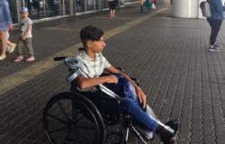 """الشاب العراقي بطل صورة """"الرغبة في الحياة"""" يبدأ علاجه في موسكو"""