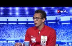 أحمد الجندي يشرح نشأته في رياضة الخماسي الحديث