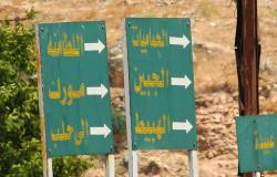 بعد تطهيرها من الإرهابيين بساعات..وزير الدفاع السوري يزور الهبيط (فيديو-صور)