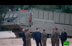 """بالصور.. كيم يشرف على اختبار إطلاق """"سلاح جديد"""""""