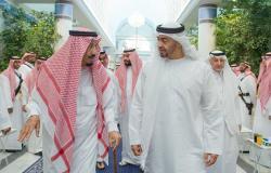 محمد بن زايد يلتقي الملك سلمان وولي عهده.. ماذا بحثا في أزمة اليمن