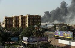 بالفيديو..دوي انفجارات تهز العاصمة بغداد