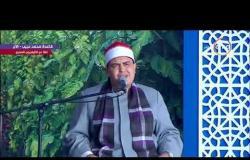لحظة دخول سيد الرئيس السيسي في افتتاح مشروع الصوب الزراعية بقاعدة محمد نجيب