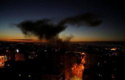 الطيران الحربي الإسرائيلي يشن غارات على مناطق شمال غزة