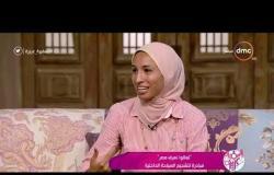 السفيرة عزيزة- ندى زين الدين .. تتحدث عن معبد دندرة في قنا