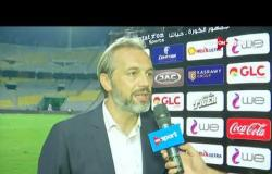 لقاء خاص مع ديسابر مدرب بيراميدز عقب الفوز على الأهلي بكأس مصر