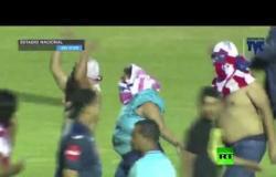 """مصرع 4 مشجعين وإصابة 7 بأعمال شغب في """"ديربي"""" هندوراس"""