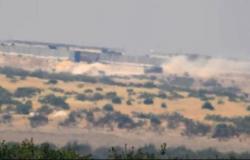 فيديو يرصد لحظة إخفاء دبابات المسلحين ضمن نقطة تركية جنوب إدلب