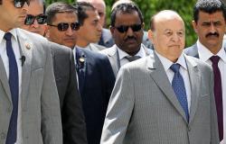 الرئيس هادي يبحث مع قيادات الحكومة والبرلمان التطورات في عدن