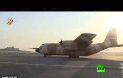لحظة توجه قوات الجيش المصري إلى روسيا