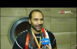 لحظة وصول بعثة منتخب مصر للناشئين لكرة اليد.. ولقاءات مع بعض اللاعبين