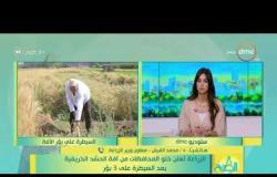 8 الصبح -  د.محمد القرش يتحدث عن خطورة حشرة اَفة الحشد الخريقية وكيفية السيطرة عليها