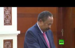 حمدوك يؤدي اليمين الدستورية رئيسا لوزراء السودان