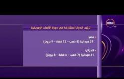 الأخبار - مصر تتصدر دورة الألعاب الإفريقية المقامة بالمغرب بـ 29 ميدالية