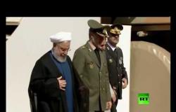 روحاني يزيح الستار عن  منظومة صاروخية جديدة للدفاع الجوي