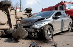 إصابة ستة أشخاص اثر حادث تصادم في اربد