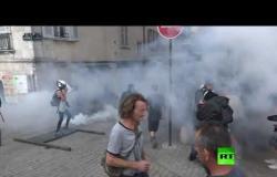 اشتباكات عنيفة بين الشرطة ومحتجين على قمة G7 في بياريتز الفرنسية