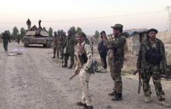 """فيديو.. القوات العراقية تلاحق """"داعش"""" في الحدود مع السعودية"""