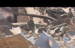 بي بي سي تستطلع الدمار الذي حل بقاعدة عسكرية تابعة للحشد الشعبي