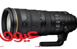 نيكون تتطور كاميرا D6 الرقمية ذات العدسة الأحادية العاكسة وعدسات نيكور AF-S بقطر 120 – 300 ملم