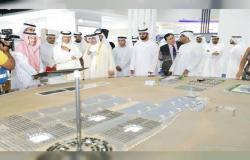 وزير الطاقة السعودي يطلع على مشروعات كهرباء ومياه دبي