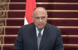 """شكري عن """"سد النهضة"""": نحترم حق إثيوبيا طالما لا يؤدي إلى وقوع أضرار على مصر"""