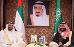 محمد بن زايد يؤكد الوقوف مع السعودية ضد التهديدات