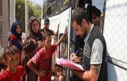 وزارة الداخلية: 153 الف سوري يغادرون المملكة عبر مركز جابر الحدودي منذ افتتاحه
