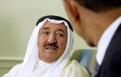 الشيخ صباح الأحمد يوجه رسالة إلى الكويتيين من أمريكا
