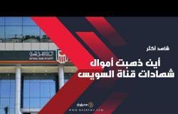 أين ذهبت أموال شهادات قناة السويس بعد ردها للعملاء؟
