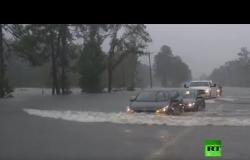مباشر.. فيضانات تجتاح تكساس بسبب عاصفة استوائية