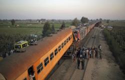 حقيقة حريق إحدى القطارات المصرية في محافظة المنيا (فيديو)
