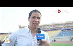 لقاءات مع سامي قمصان ومجدي عبد العاطي عقب مباراة الأهلي وأسوان