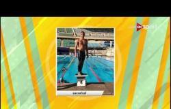 ندي مجدي توضح أسباب تميزها فى سباقات السباحة بالزعانف للمسافات الطويلة