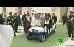 بوتين وسلمان يستقلان سيارة كهربائية إلى صالة المفاوضات