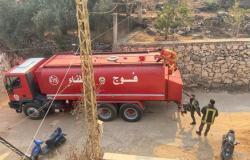 بالفيديو... مواطنون يطردون وزيرا لبنانيا من مركز مختص بمساعدة المنكوبين من الحرائق