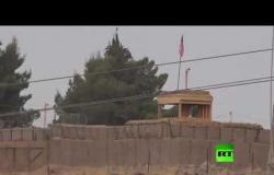 حصري.. عدسة  آر تي تصور القاعدة العسكرية الأمريكية في الحسكة