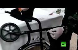 اعتقال مسنة تهرب كمية هائلة من الكوكائين في كرسي متحرك
