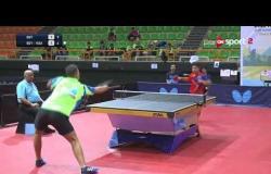 المباراة الرابعة بين السعودية ومصر منتخب مشترك ضد مصر A تحت 18 سنة أولاد - بطولة مصر الدولية للتنس