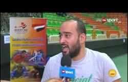 فعاليات بطولة مصر الدولية لناشئي تنس الطاولة