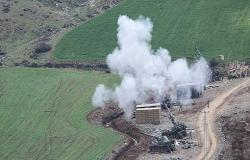 نبع السلام.. المدفعية التركية تستهدف العناصر الإرهابية بريف رأس العين